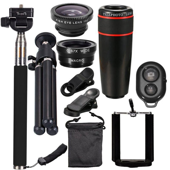 10 In 1 Smart Phone Lens And Selfie Bundle-Daily Steals