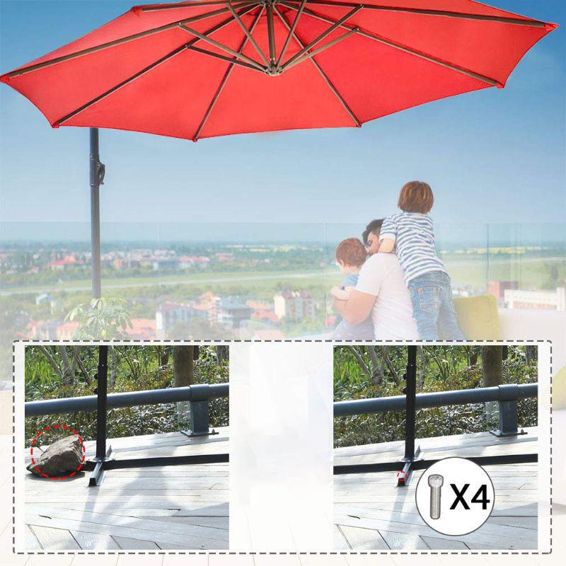 10' Cantilever Offset Patio Umbrella-Daily Steals