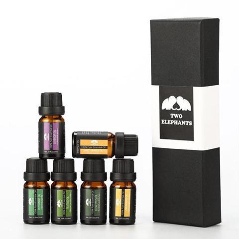 [6-Piece Set] Aromatherapy Therapeutic Essential Oils - Two Options-Set A-Daily Steals