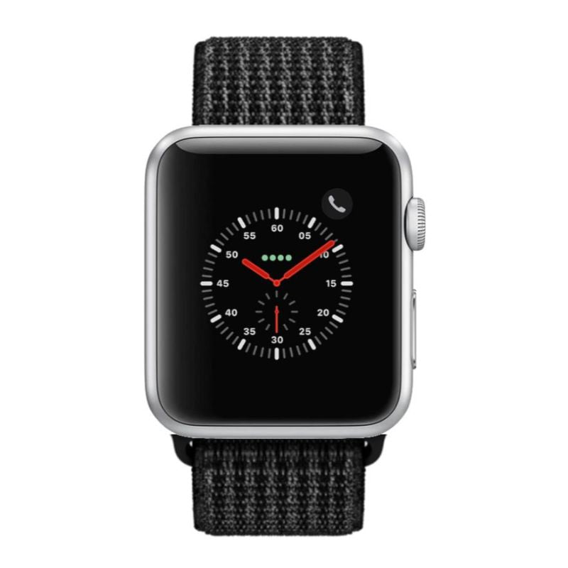Apple Watch Series 2 38mm, WiFi-Silver with Black Sport Loop-Daily Steals