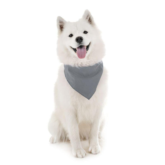 Dog Scarf Bandanas Triangle Bibs - 6 Pack-Gray-Daily Steals