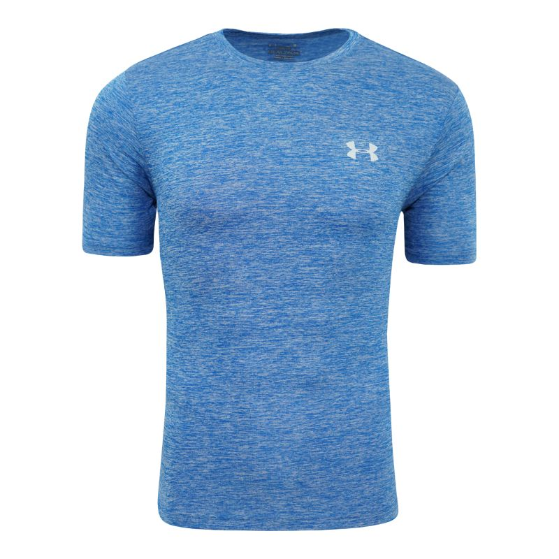 Under Armour Men's Short Sleeve T-Shirt-Royal Heather-M-Daily Steals