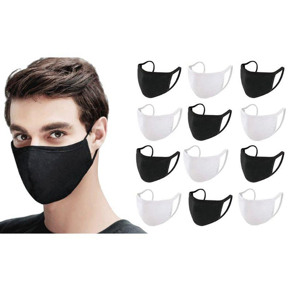 Antibacterial Reusable & Washable Breathable Face Mask - 10 or 20 Pack-Daily Steals