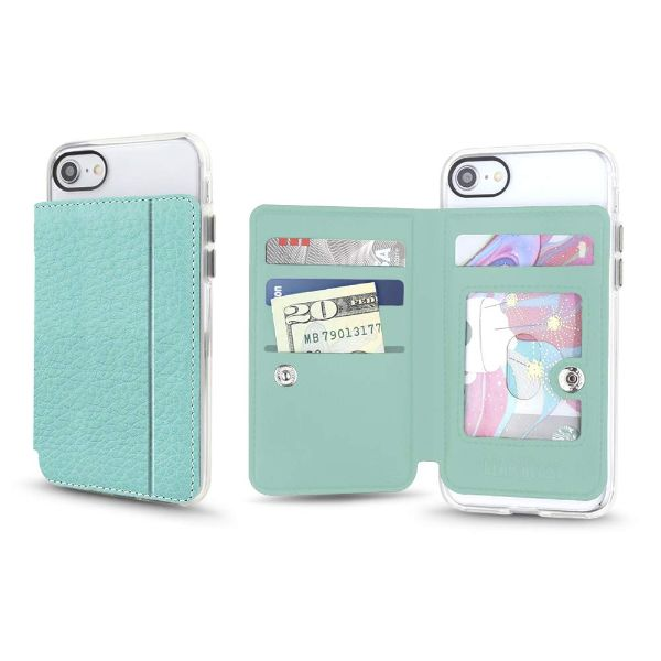 Gear Beast Universal Cell Phone Folio Wallet-Seafoam-Daily Steals
