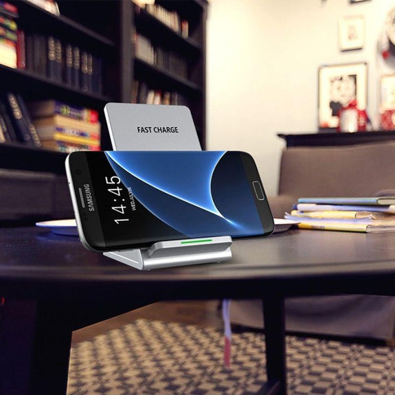 10W Wireless Fast Charger for iPhone, Samsung and all Qi Devices-1 Pack-