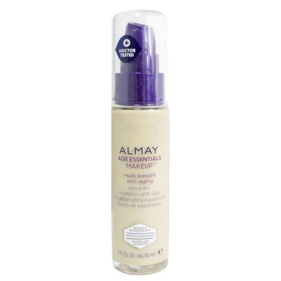 Almay Age Essentials Anti-Aging SPF 15 Foundation Makeup - 2 Pack-110 Light Neutral-Daily Steals