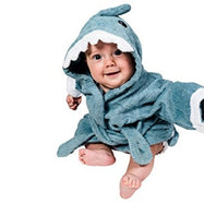 Pollywog Baby Shark Towel Robe-Daily Steals