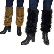 Faux Fur Leg Warmers with Comfort Fit-Daily Steals