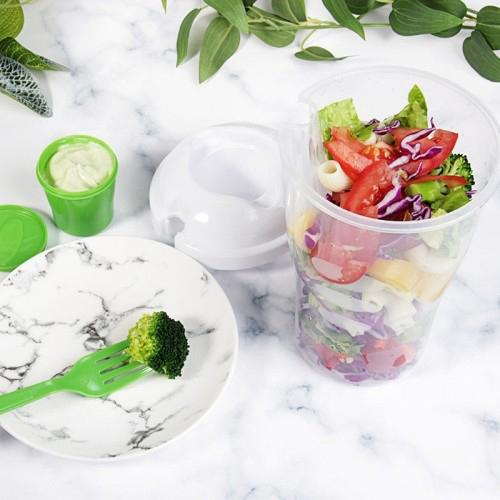 Lunch-to-Go Salad Container Cups-Daily Steals