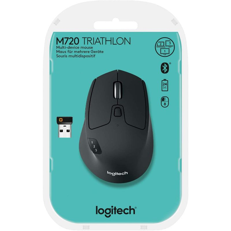 Logitech M720 Triathalon Multi-Device Wireless Mouse – Hyper-Fast Scrolling-Daily Steals