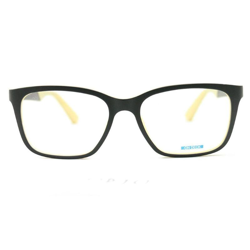 On Deck Eyeglasses OD014 Ultem Black 54 17 140 without case
