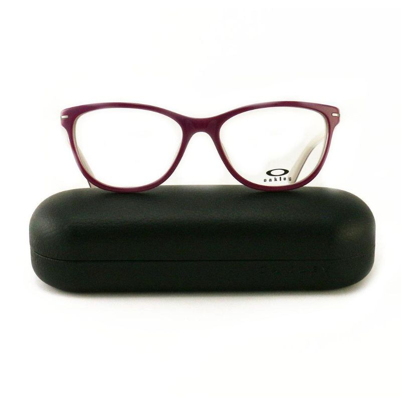 Oakley Stand Out Purple Helio Eyeglasses OX1112 04 Demo Lens 53 17 136