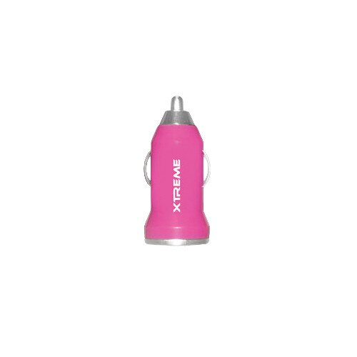Xtreme Cables 1-Port 1A USB Car Charger - 2 Pack-Pink-Daily Steals