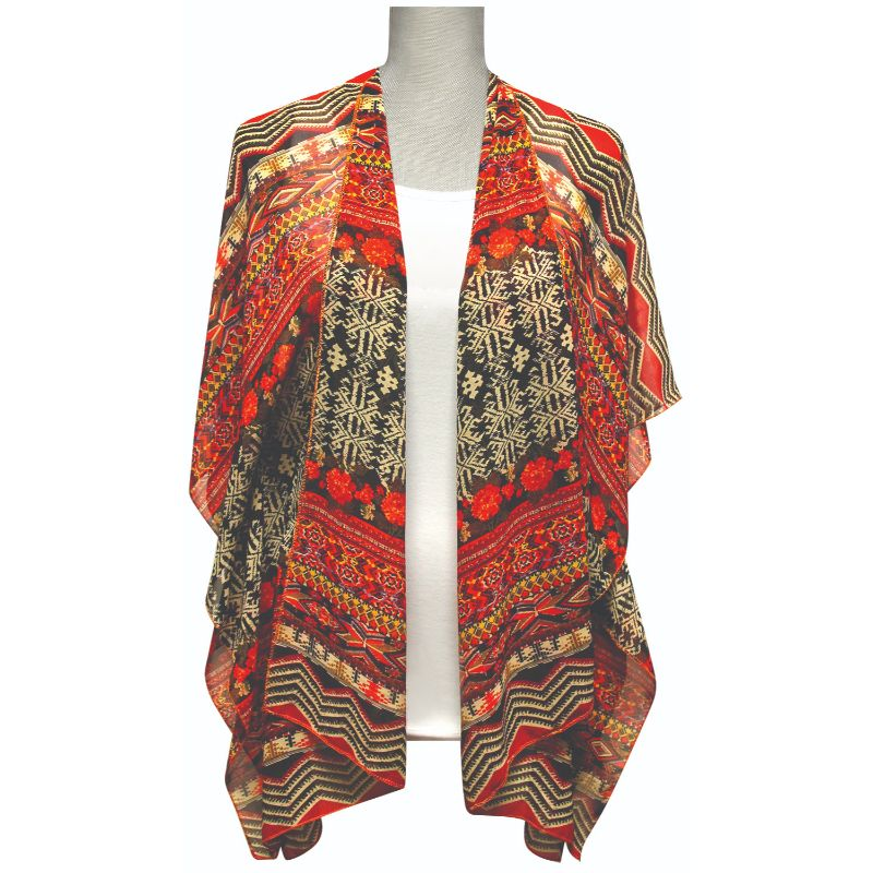 Accents by Lavello Sheer Designer Vest-11-Daily Steals