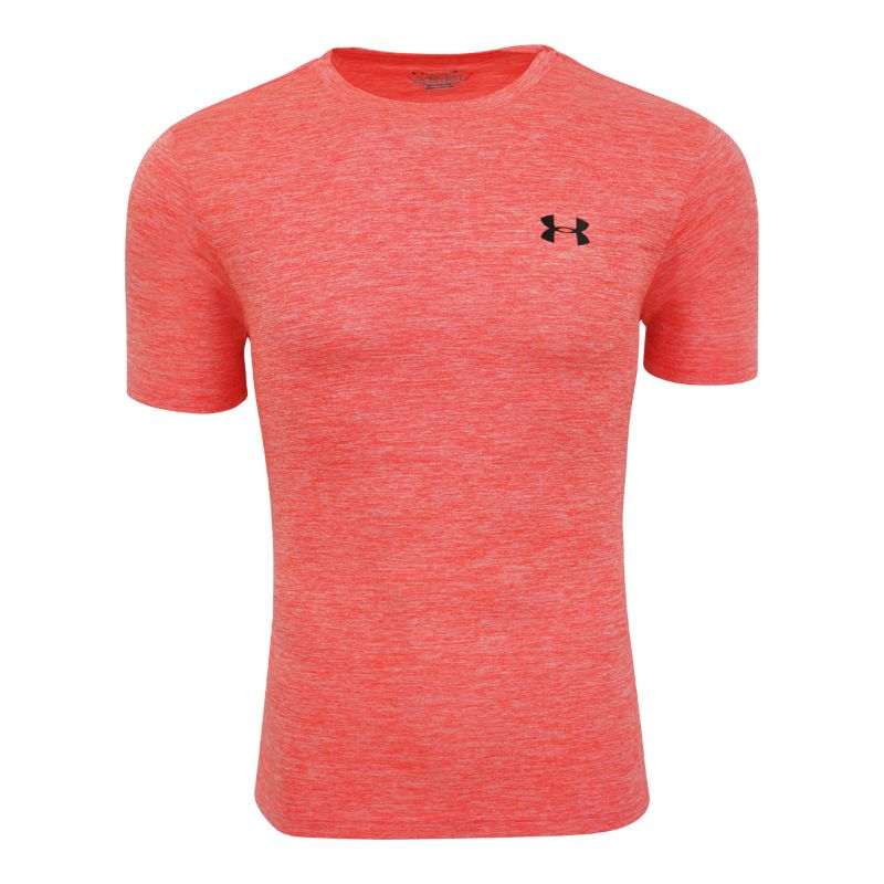 Under Armour Men's Short Sleeve T-Shirt-Coral Heather-S-Daily Steals