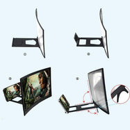 12'' 3D Curved Screen Magnifier for Mobile Phone-