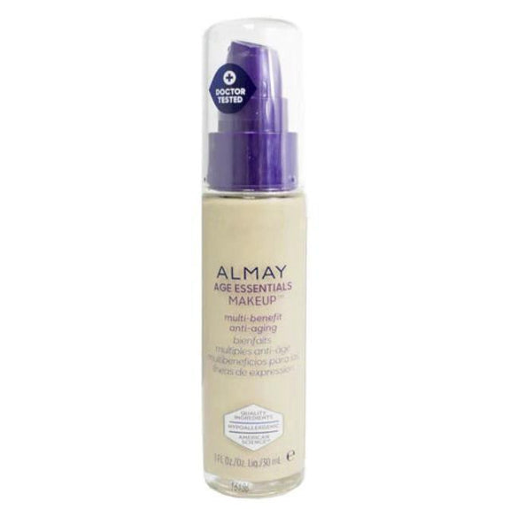 Almay Age Essentials Anti-Aging SPF 15 Foundation Makeup - 2 Pack-120 Light Warm-Daily Steals