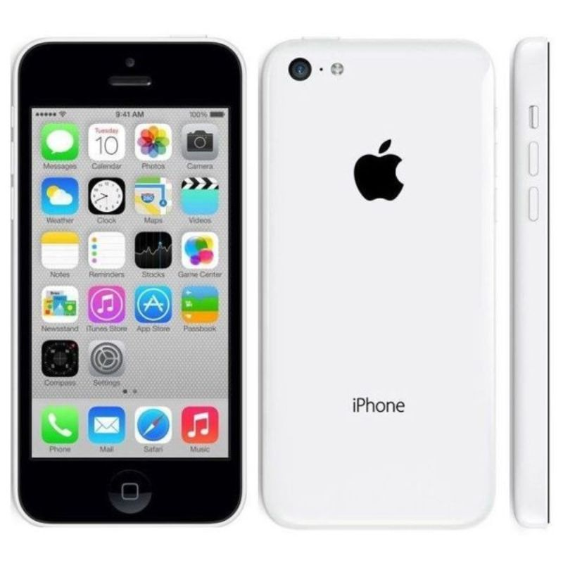Apple iPhone 5c débloqué GSM Phone-White-8GB-Daily Steals