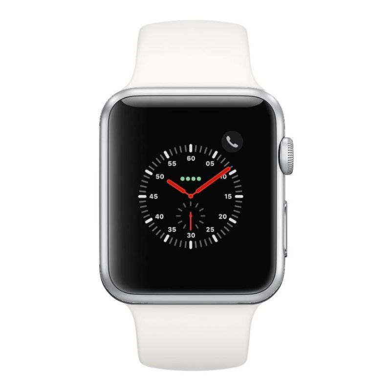 Apple Watch Series 2 38mm, WiFi-Silver with White Sport Band-Daily Steals