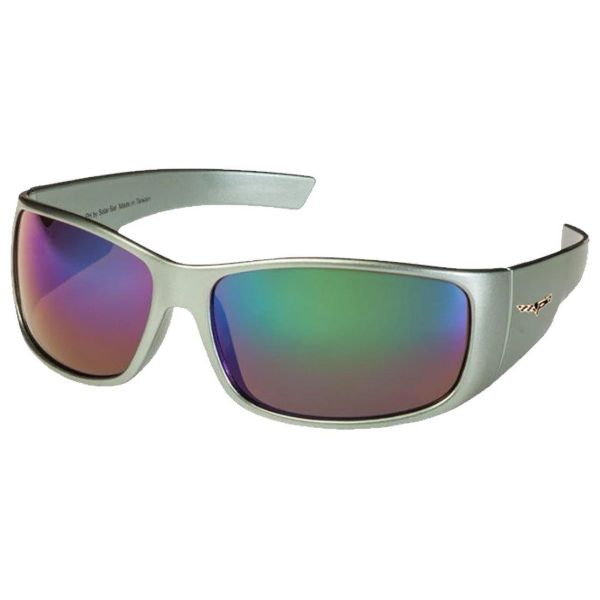 Corvette C6 Polarized Sunglasses El Series 5 Sports Styles by Solar Bat-CV-BD3 Gray Blue Mirrored Polarized-Daily Steals