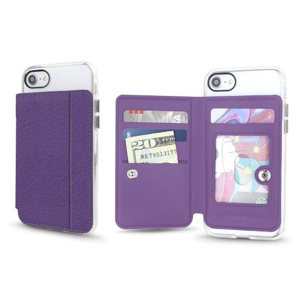 Gear Beast Universal Cell Phone Folio Wallet-Eggplant-Daily Steals