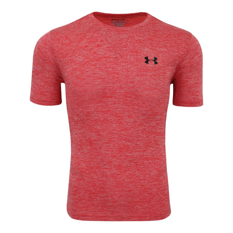 Under Armour Men's Short Sleeve T-Shirt-Red Heather-M-Daily Steals