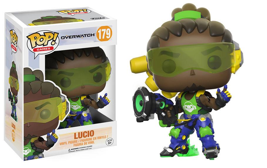 Funko POP Collectible Figures-POP Games: Overwatch - Lucio-Daily Steals