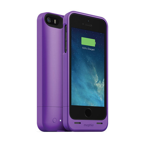 [1 eller 2 pack] Mophie Juice Pack helium för iPhone 5 / 5s / SE - Purple-1 pack - Daily Steals