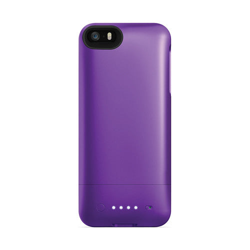 [1 o 2 paquetes] mophie juice pack helio para iPhone 5 / 5s / SE - Purple-Daily Steals