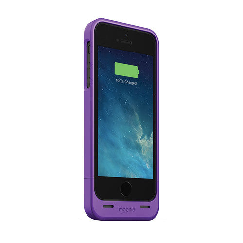 [1 eller 2 pack] Mophie Juice Pack helium för iPhone 5 / 5s / SE - Purple-Daily Steals