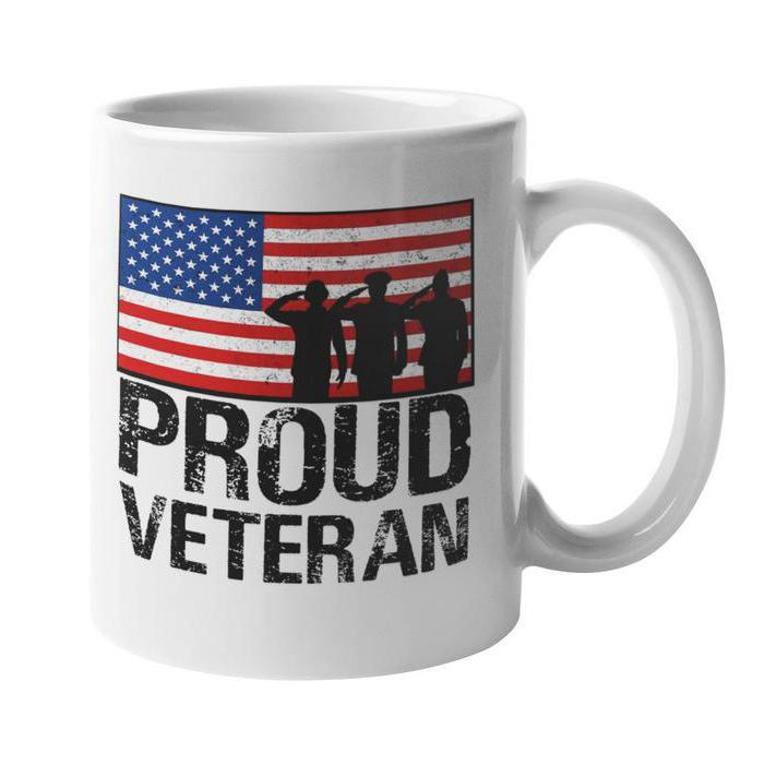 Proud USA Veteran 11 Ounce Coffee Mug-Daily Steals