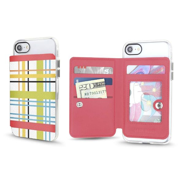 Gear Beast Universal Cell Phone Folio Wallet-Summer Plaid-Daily Steals