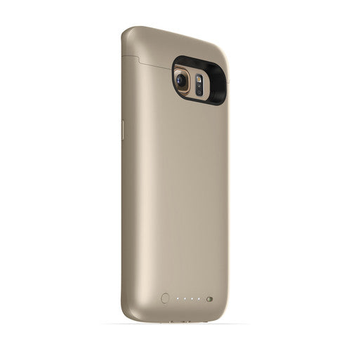 [1 or 2 Pack] mophie juice pack Battery Case for Galaxy S6 Edge - Gold-Daily Steals