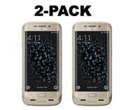 [1 or 2 Pack] mophie juice pack Battery Case for Galaxy S6 Edge - Gold-2 pack-Daily Steals
