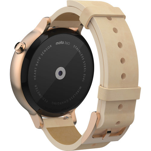 Daily Steals-Motorola Moto 360 Women's Smartwatch (2nd Gen.) - Rose Gold with Blush Leather-Wearables-