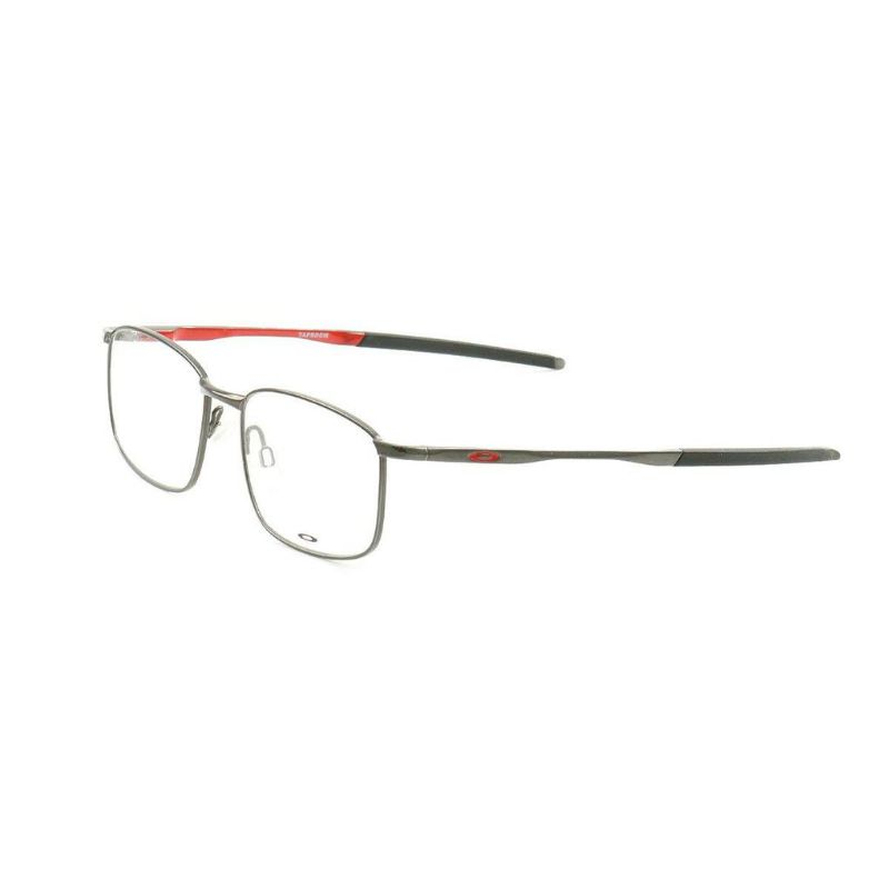 Oakley Taproom Unisex's Eyeglasses OX3204 03 Polished Cement 53 17 139 Demo Lens