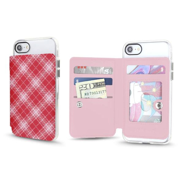 Gear Beast Universal Cell Phone Folio Wallet-Candy Plaid-Daily Steals