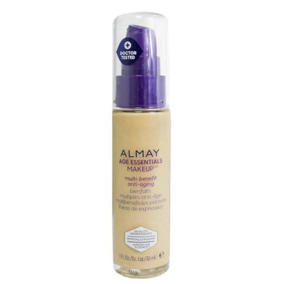 Almay Age Essentials Anti-Aging SPF 15 Foundation Makeup - 2 Pack-150 Medium Cool-Daily Steals