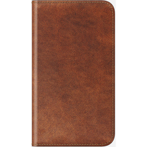 Nomad Leather Folio Case for Apple iPhone X - Rustic Brown-Daily Steals