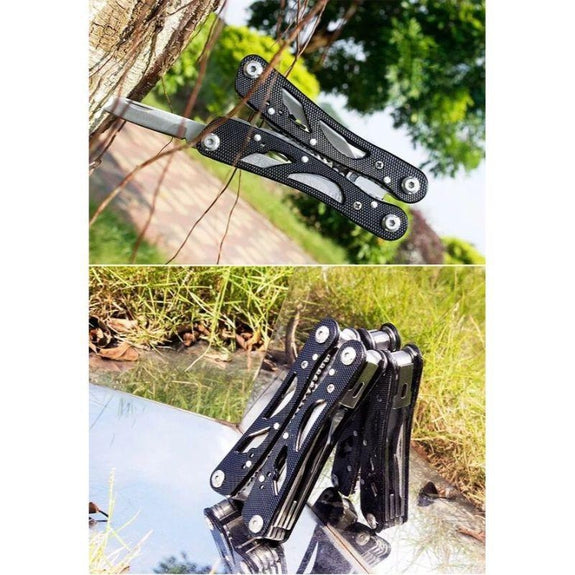 15N1 Multi-Function Emergency Pocket Tool-Black-