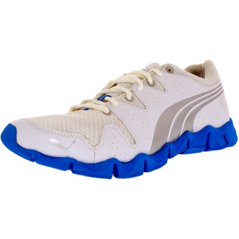 Puma Women's Shintai Runner White/Silver/Malibu Blue Running Shoe - 11-Daily Steals