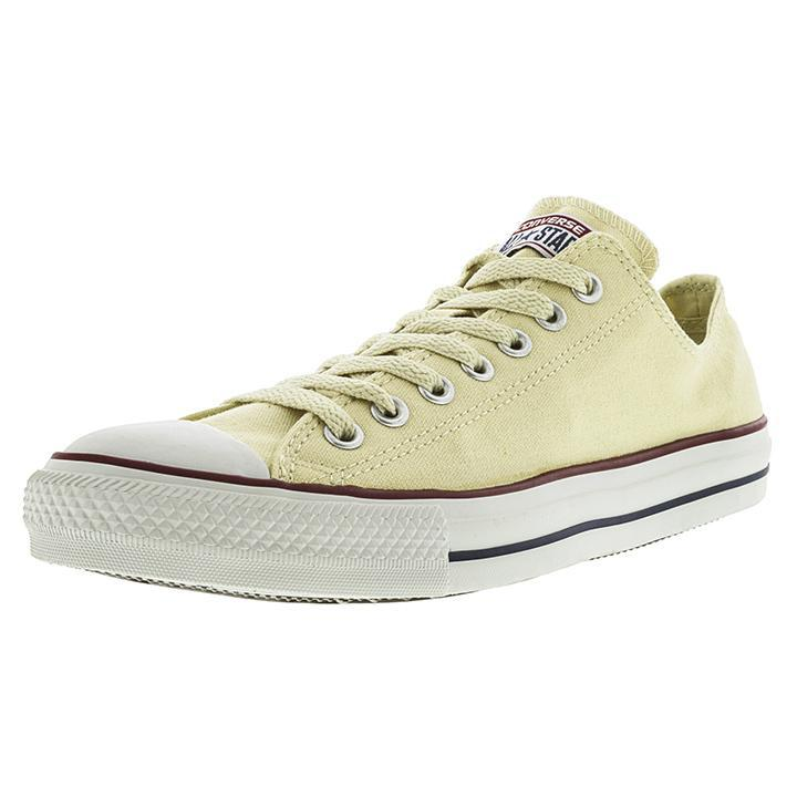Converse All Star Ox Natural White Ankle-High Slip-On Shoes - Adult Unisex Size 10.5W / 8.5M-Daily Steals