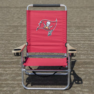 NFL Licensed Football Teach Logo Beach Chair-Daily Steals