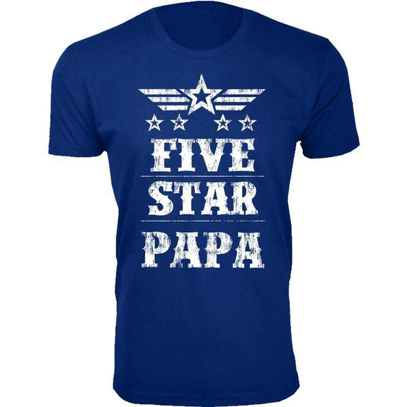 Men's Five Star Father's Day T-shirts-Daily Steals