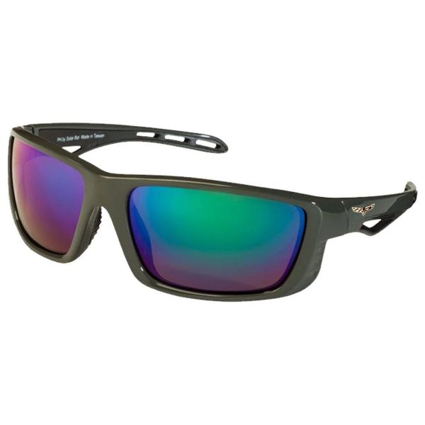 Corvette C6 Polarized Sunglasses El Series 5 Sports Styles by Solar Bat-CV-PHRC Gray Blue Mirrored Polarized-Daily Steals