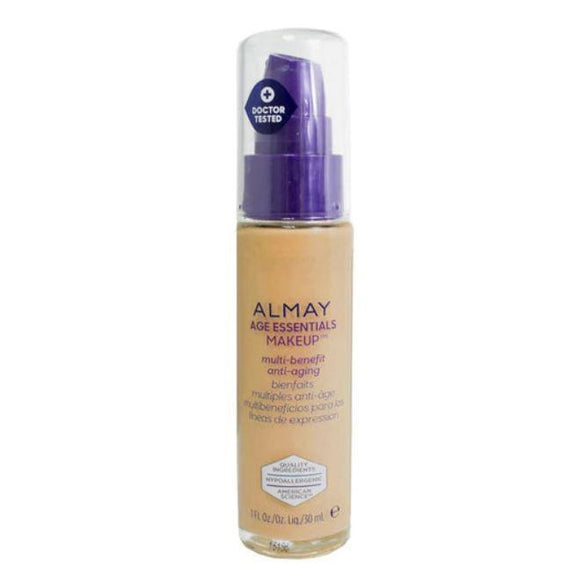 Almay Age Essentials Anti-Aging SPF 15 Foundation Makeup - 2 Pack-170 Medium Neutral-Daily Steals