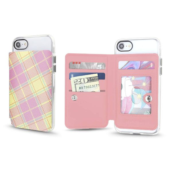 Gear Beast Universal Cell Phone Folio Wallet-Pink Lemonade-Daily Steals
