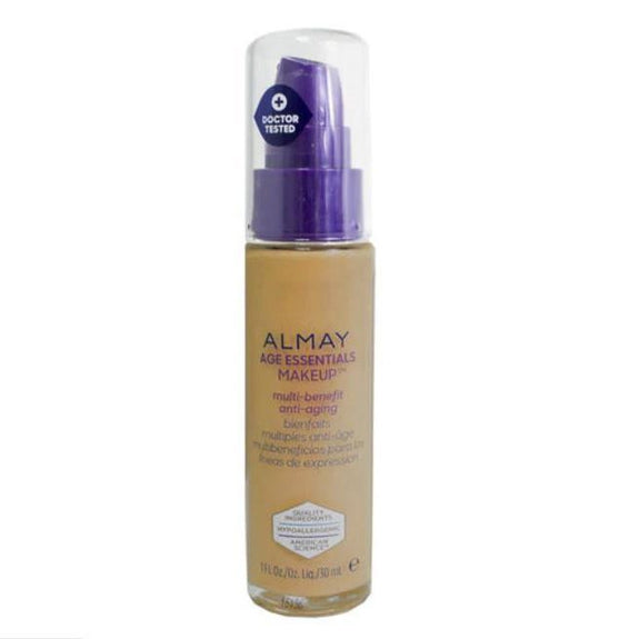 Almay Age Essentials Anti-Aging SPF 15 Foundation Makeup - 2 Pack-180 Medium Deep-Daily Steals