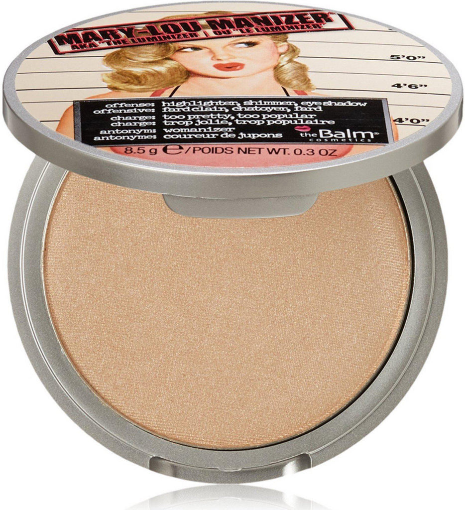 theBalm Mary-Lou Manizer Highlighter, Shadow and Shimmer, 0.30 Oz-Daily Steals