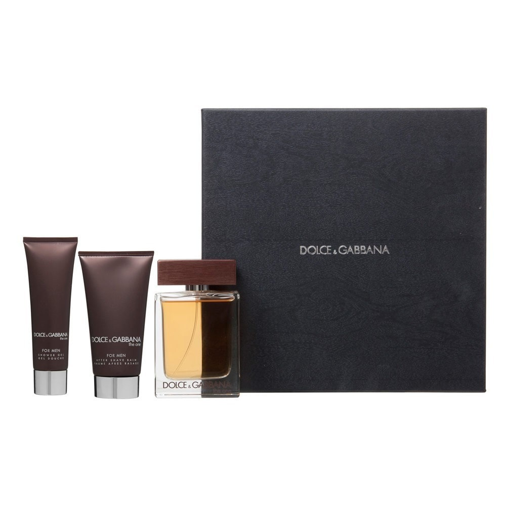 Daily Steals-Dolce & Gabbana The One For Men 3-Piece Travel Set-Health and Beauty-